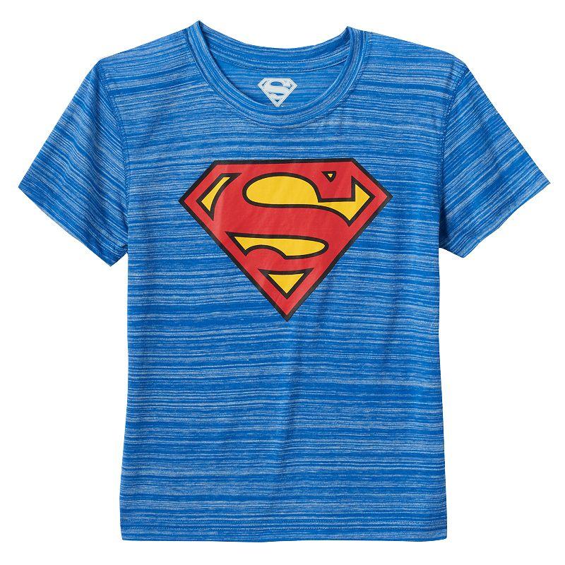 Boys 4-7 DC Comics Superman Space-Dye Tee