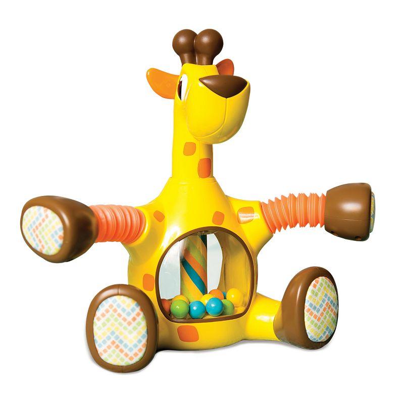 Kiddopotamus Laffy Giraffy Rattle & Teether Toy