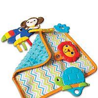 Kiddopotamus Sens-O-Ring Teether Toy