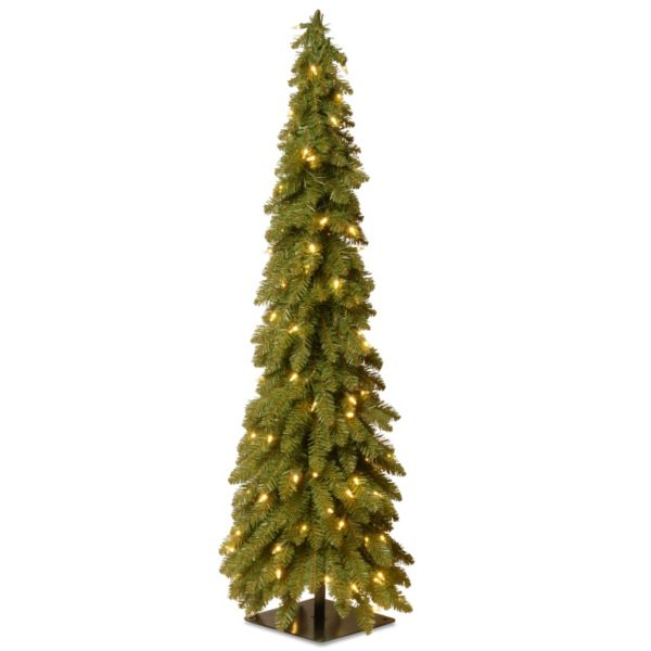 48-in. Pre-Lit Downswept Artificial Christmas Tree