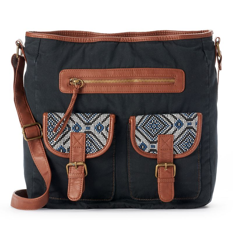Mudd® Thai Crossbody Bag