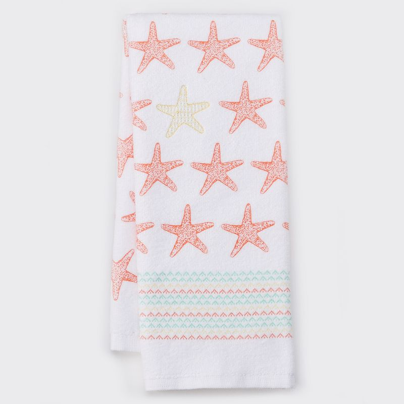 Celebrate Local Life Together Starfish Kitchen Towel