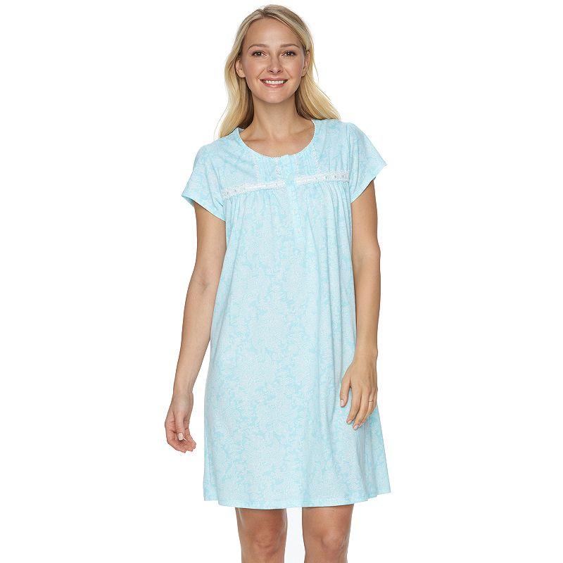 Women's Croft & Barrow® Pajamas: Knit Nightgown