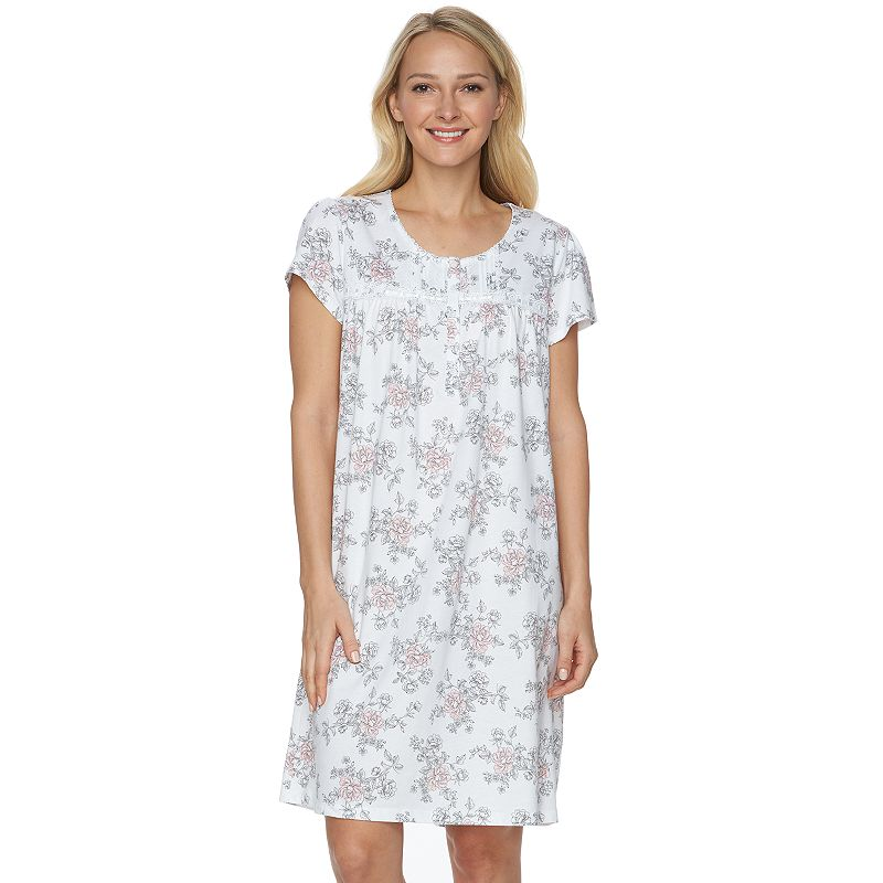 Petite Croft & Barrow® Pajamas: Knit Nightgown