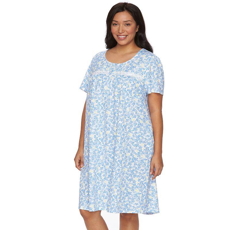 Plus Size Croft & Barrow® Pajamas: Knit Nightgown