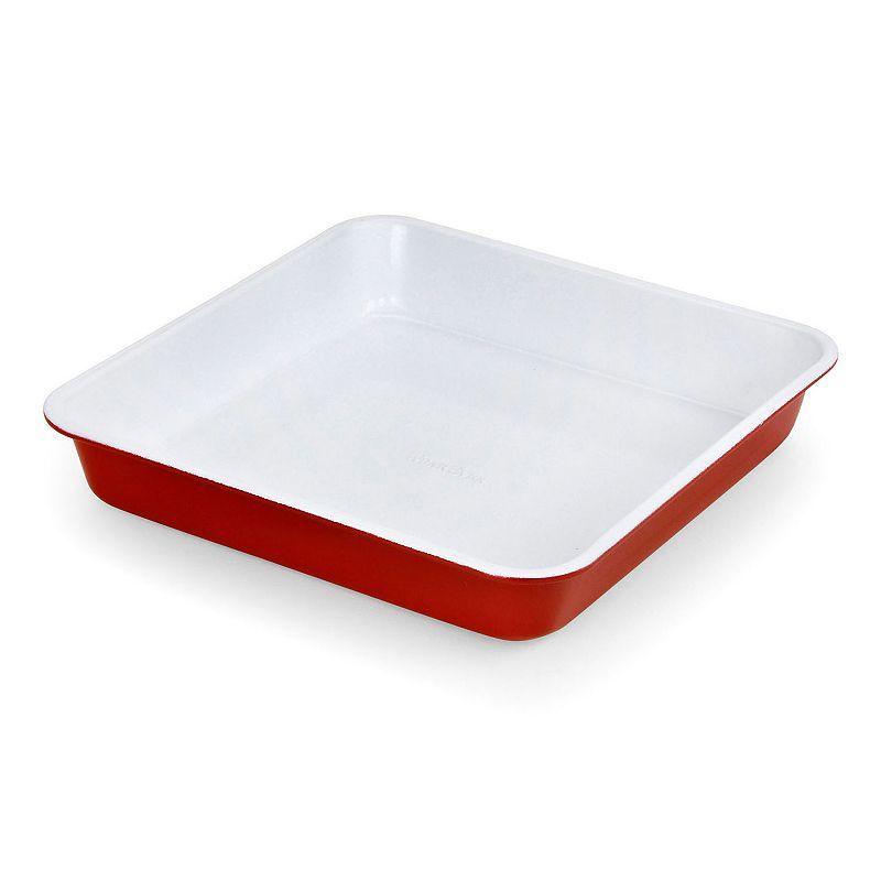 WearEver 9-in. Nonstick Ceramic Square Cake Pan