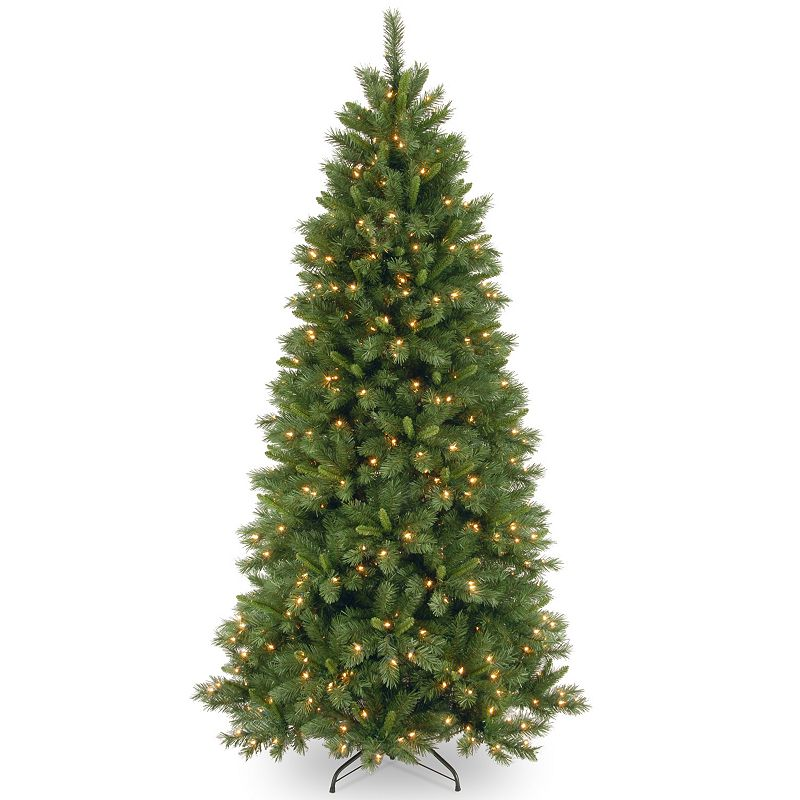 7.5-ft. Pre-Lit Dual LED Lehigh Valley Pine Artificial Christmas Tree