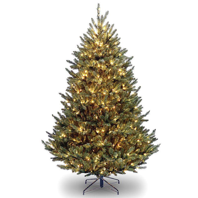 7.5-ft. Pre-Lit Natural Fraser Fir Artificial Christmas Tree