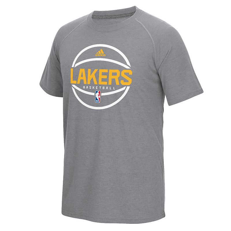Men's adidas Los Angeles Lakers Pre-Game Ball Tee