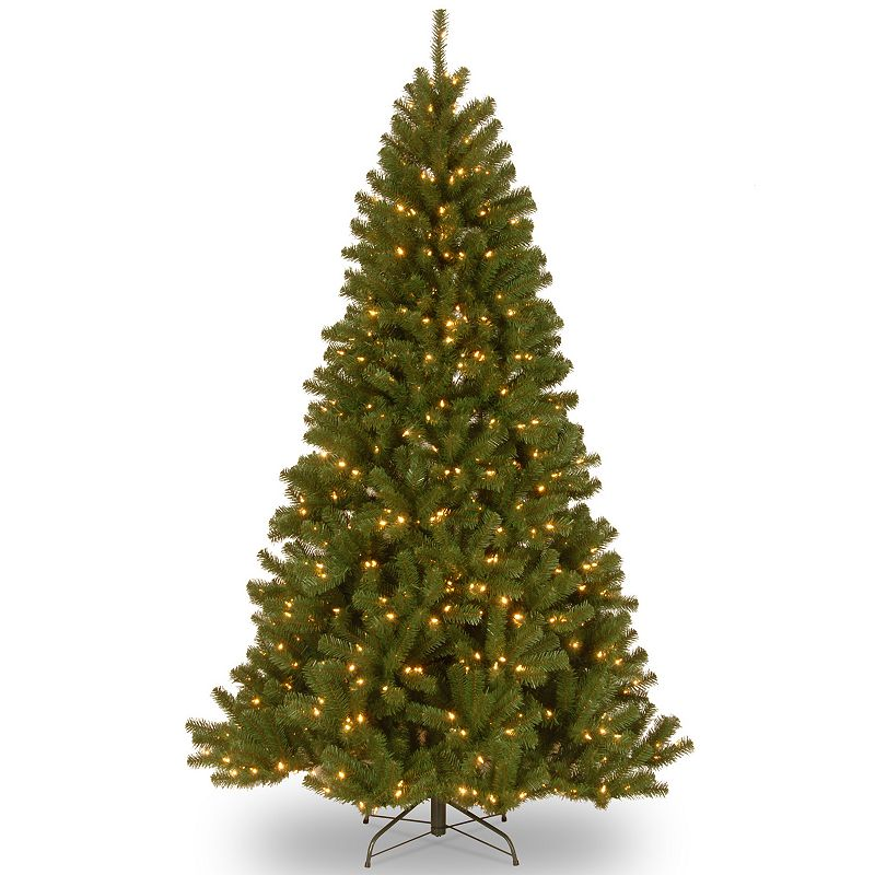 9-ft. Pre-Lit Dual LED North Valley Artificial Christmas Tree