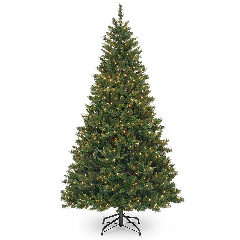 7.5-ft. Pre-Lit Oxford Pine Artificial Christmas Tree