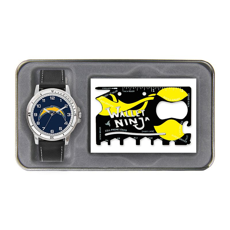 Sparo San Diego Chargers Watch and Wallet Ninja Set - Men