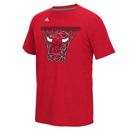 adidas Men's Chicago Bulls Net Web Tee