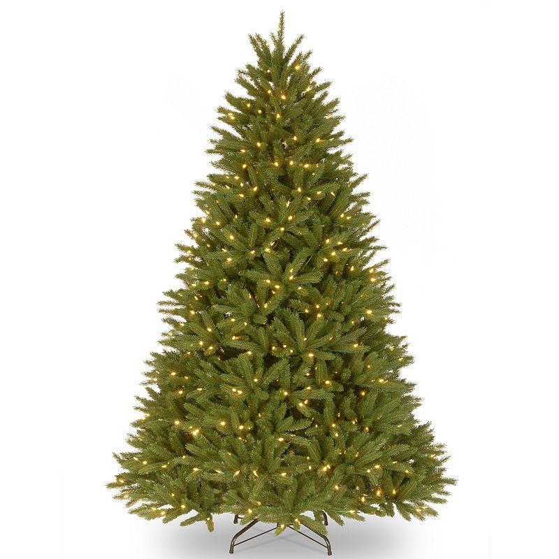 7.5-ft. Pre-Lit ''Feel Real'' Belmar Fir Artificial Christmas Tree