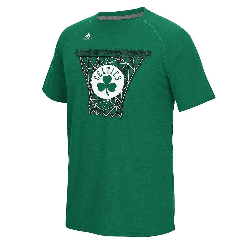 adidas Men's Boston Celtics Net Web Tee