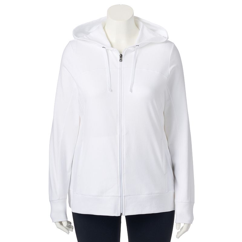 Plus Size Tek Gear® Full-Zip Hoodie