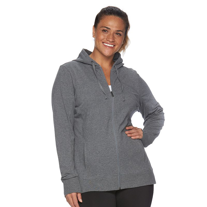 Plus Size Tek Gear® Full-Zip Hoodie