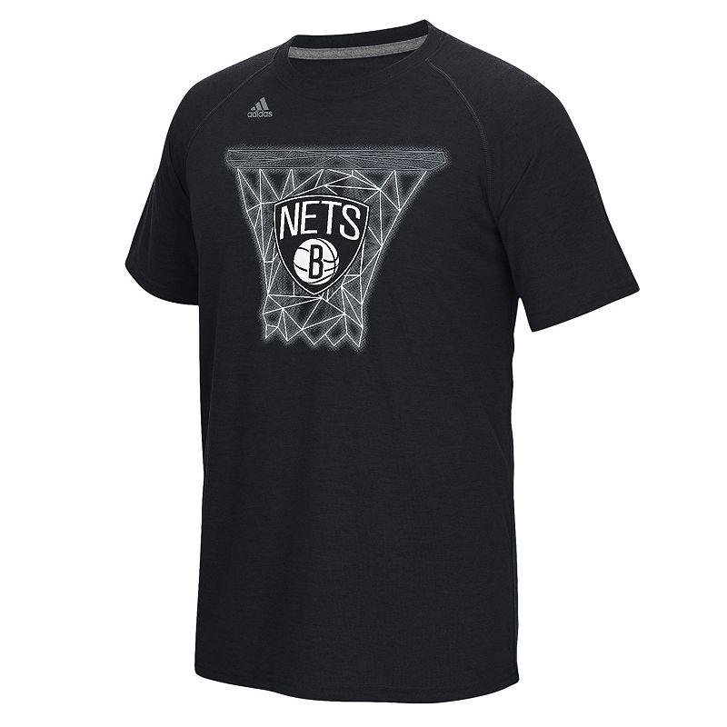 adidas Men's Brooklyn Nets Net Web Tee