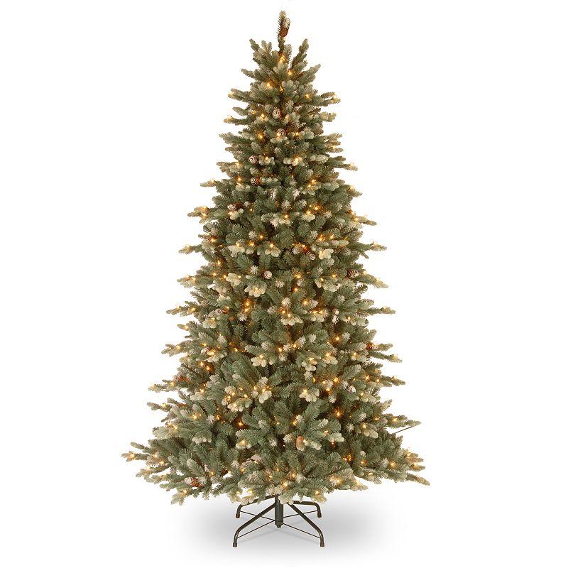 7.5-ft. Pre-Lit Copenhagen Spruce Artificial Christmas Tree