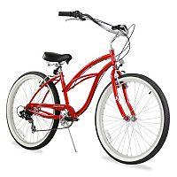 Firmstrong Women's 26-in. Urban Seven-Speed Beach Cruiser Bike