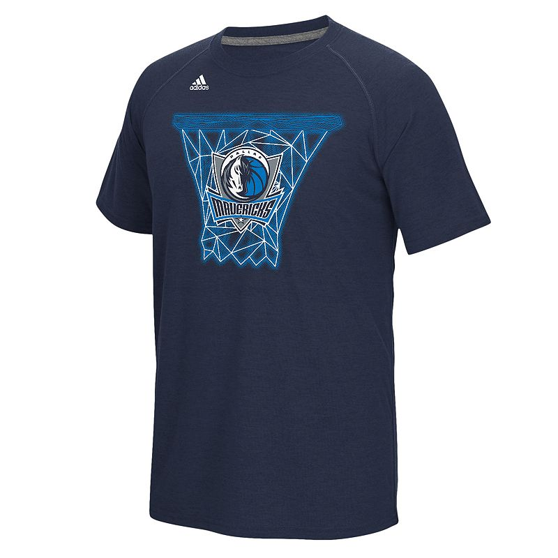 adidas Men's Dallas Mavericks Net Web Tee