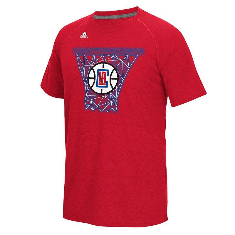 adidas Men's Los Angeles Clippers Net Web Tee