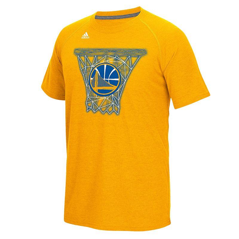 adidas Men's Golden State Warriors Net Web Tee