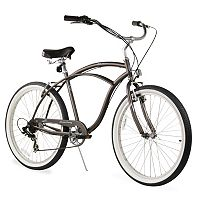 Firmstrong Men's 26-in. Urban Seven-Speed Beach Cruiser Bike