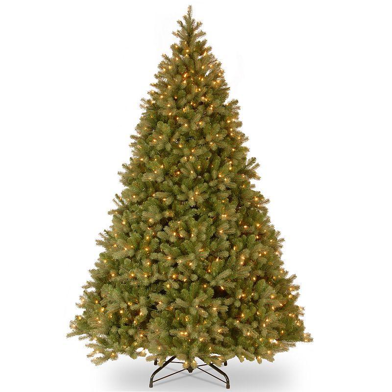 9-ft. Pre-Lit ''Feel Real'' Downswept Douglas Fir Artificial Christmas Tree