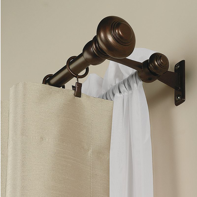 Home Classics® Double Curtain Rod