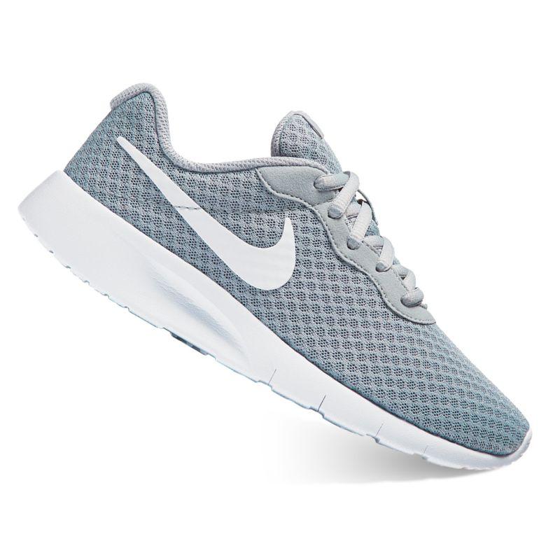 Nike Tanjun Boys' Running Shoes, Size: 4, Grey (Charcoal) thumbnail