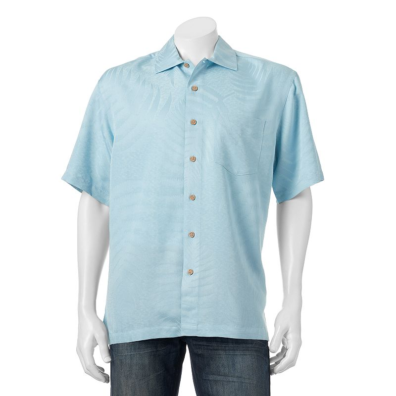 men 39 s batik bay print casual button down shirt dealtrend