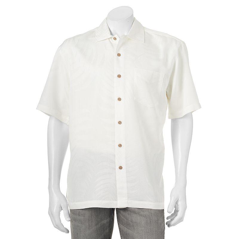 Men's Batik Bay Print Casual Button-Down Shirt