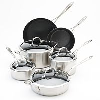 Food Network™ 10-pc. Tri-Ply Stainless Steel Nonstick Cookware Set