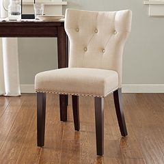 Click here to buy Madison Park Emilia Tufted Back Dining Chair.
