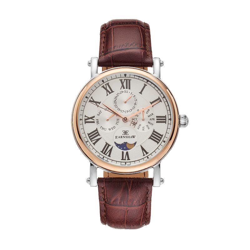 Thomas Earnshaw Men's Maskelyne Leather Watch - ES-8031-03