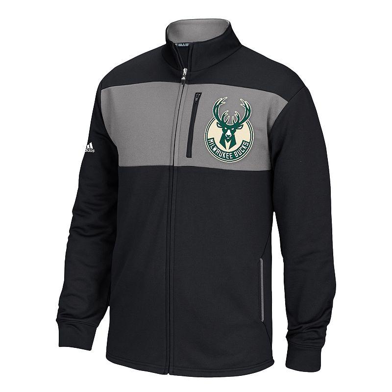 Men's adidas Milwaukee Bucks Tip Off Jacket