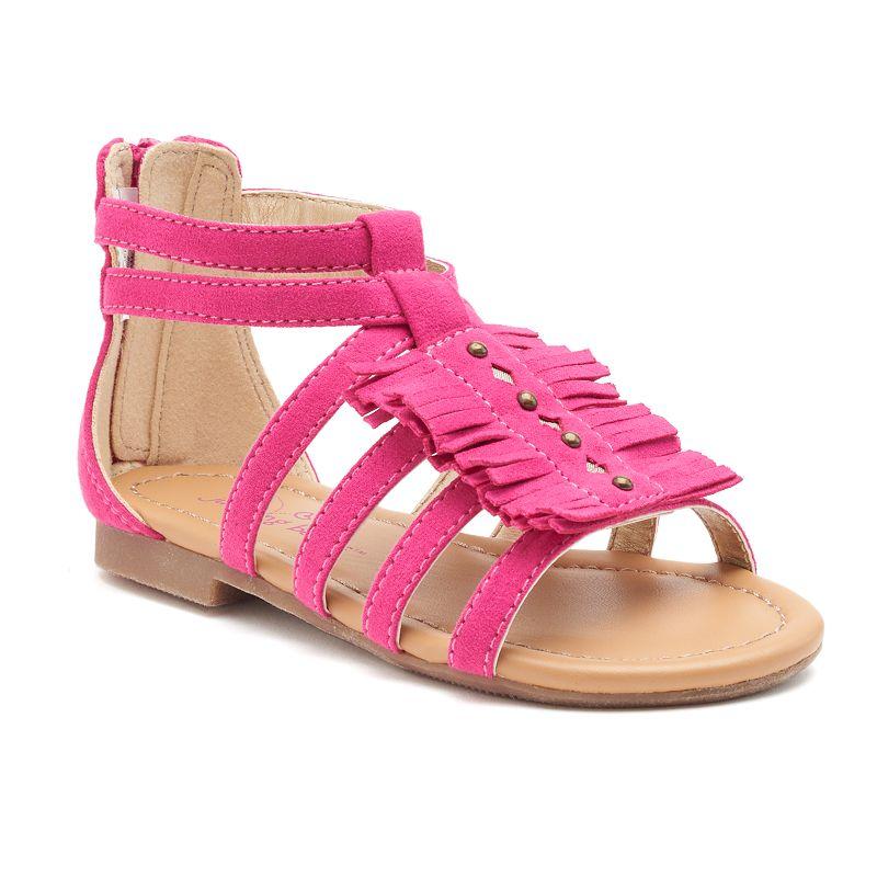 Jumping Beans® Toddler Girls' Fringe Sandals