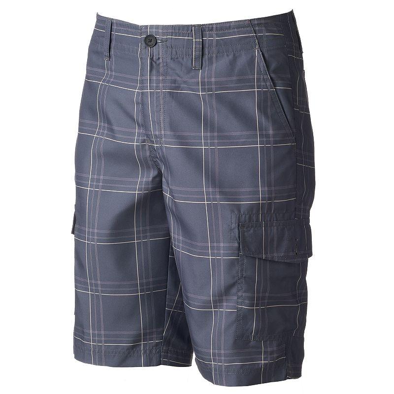 Men's Tony Hawk® Plaid Cargo Shorts