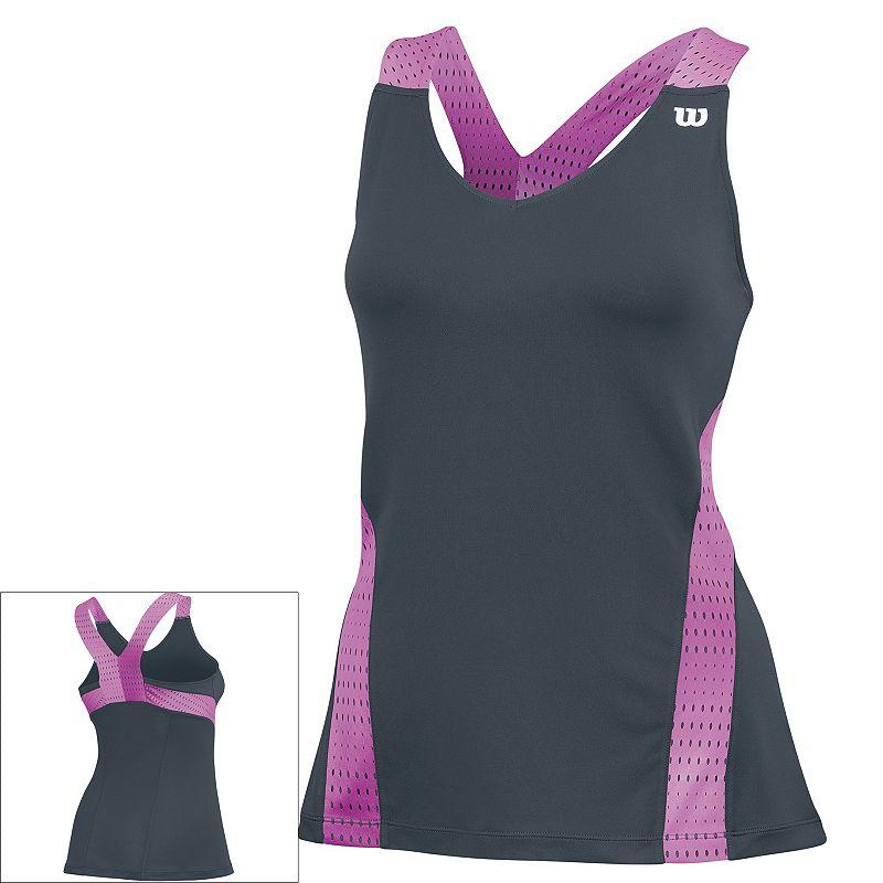 Women's Wilson Summer Colorflight V-Neck Tennis Tank