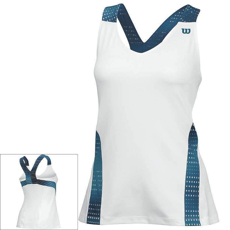 Women's Wilson Summer Colorflight V-Neck Tennis Tank