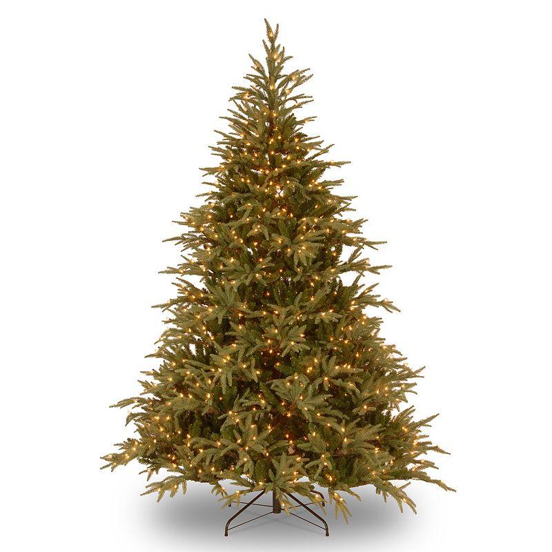 7.5-ft. Pre-Lit Dual LED ''Feel Real'' Frasier Grande Artificial Christmas Tree