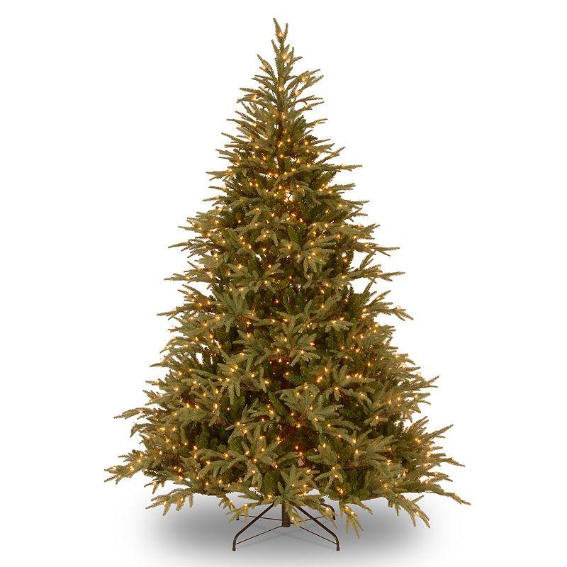 9-ft. Pre-Lit Dual LED ''Feel Real'' Frasier Grande Artificial Christmas Tree