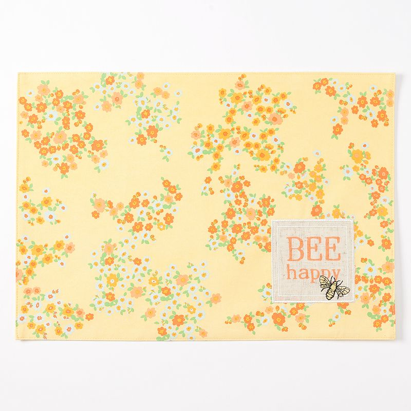 Celebrate Spring Together Bee Happy Placemat