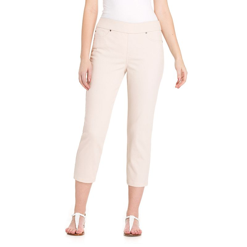Women's Haggar® Tummy Control Pull-On Dream Capris