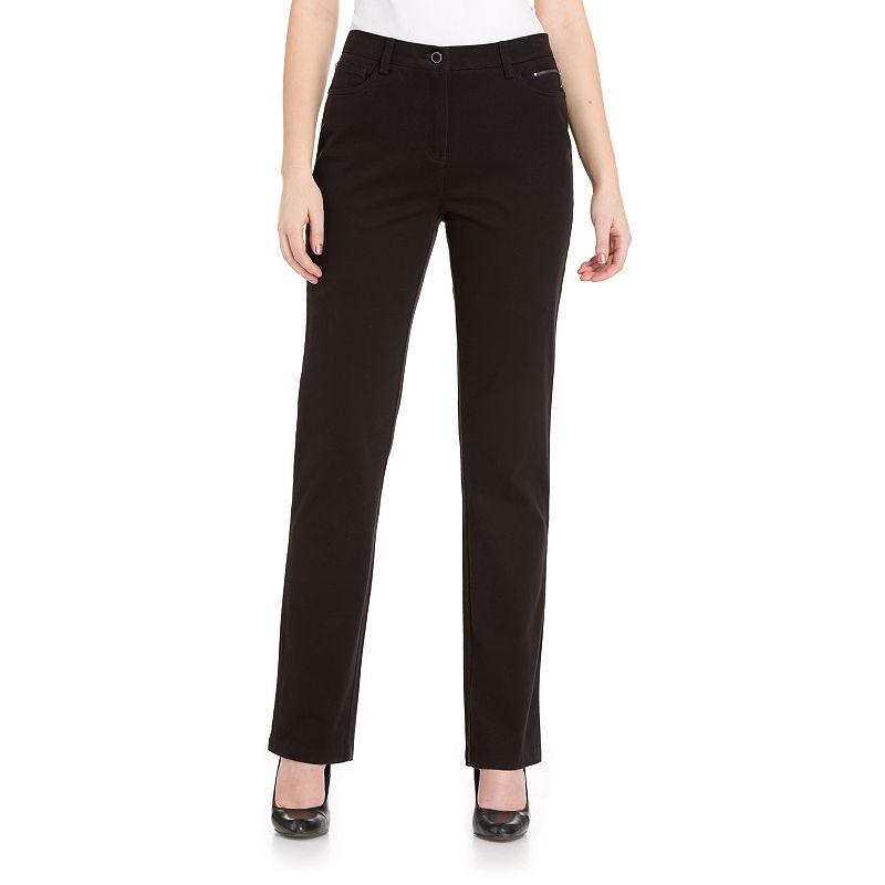 Women's Haggar® Tummy Control Classic Fit Pants
