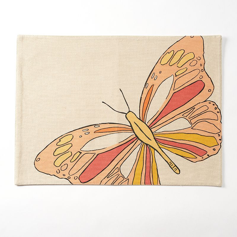 Celebrate Spring Together Butterfly Placemat