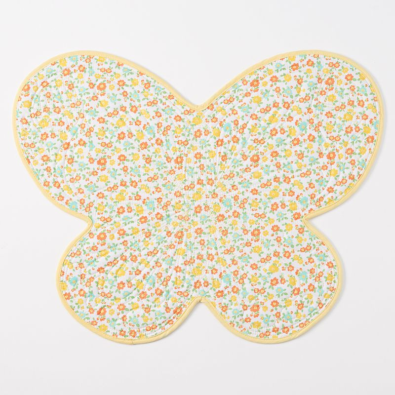 Celebrate Spring Together Quilted Reversible Butterfly Placemat