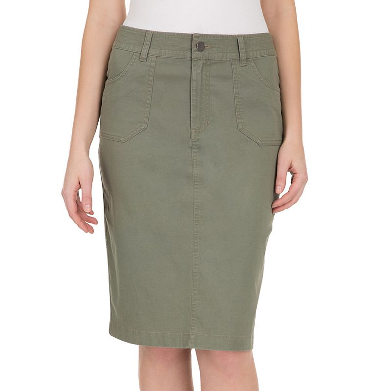 Women's Haggar® Twill Pencil Skirt