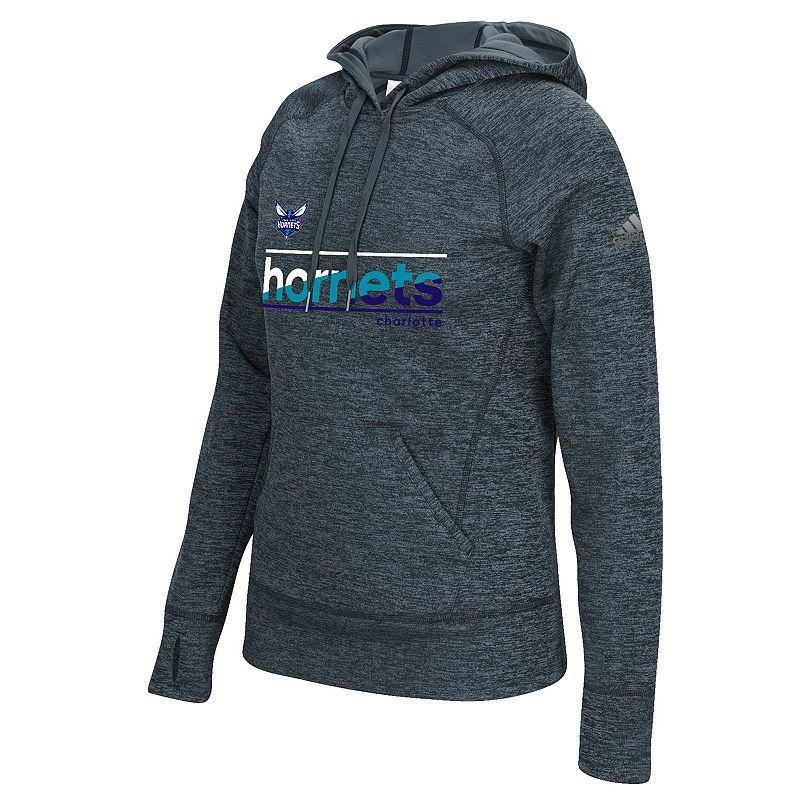 adidas Women's Charlotte Hornets Slant Hoodie